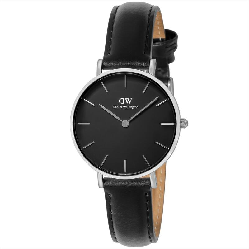 ダニエルウェリントン Daniel Wellington ユニセックス腕時計 ClassicPetiteBlackSheffied DW00100180 ブラック