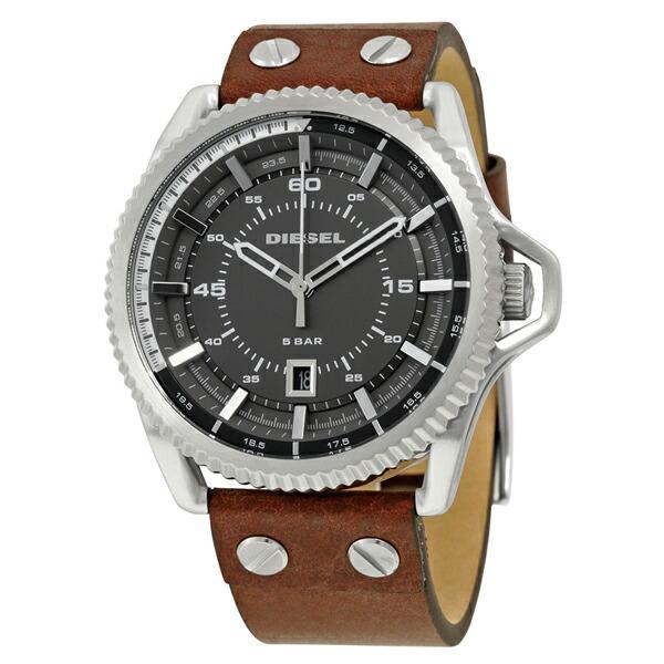 ディーゼル DIESEL 腕時計 ロールケイジ ブラック DZ1716