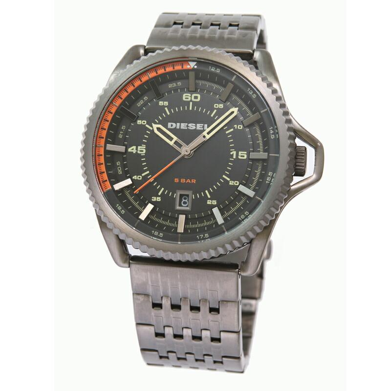 ディーゼル DIESEL メンズ腕時計 DZ1719 ブラックステンレス