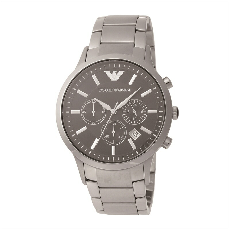エンポリオ・アルマーニ EMPORIO ARMANI メンズ腕時計 クラシック AR2434 ブラック