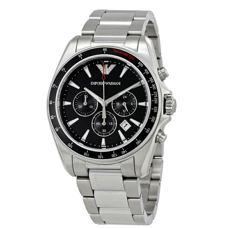 エンポリオ アルマーニ EMPORIO ARMANI メンズ腕時計 クラシックシグマ クロノグラフ AR6098