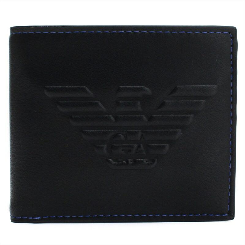 エンポリオアルマーニ EMPORIO ARMANI 二つ折財布 Y4R167 81072 YG90J