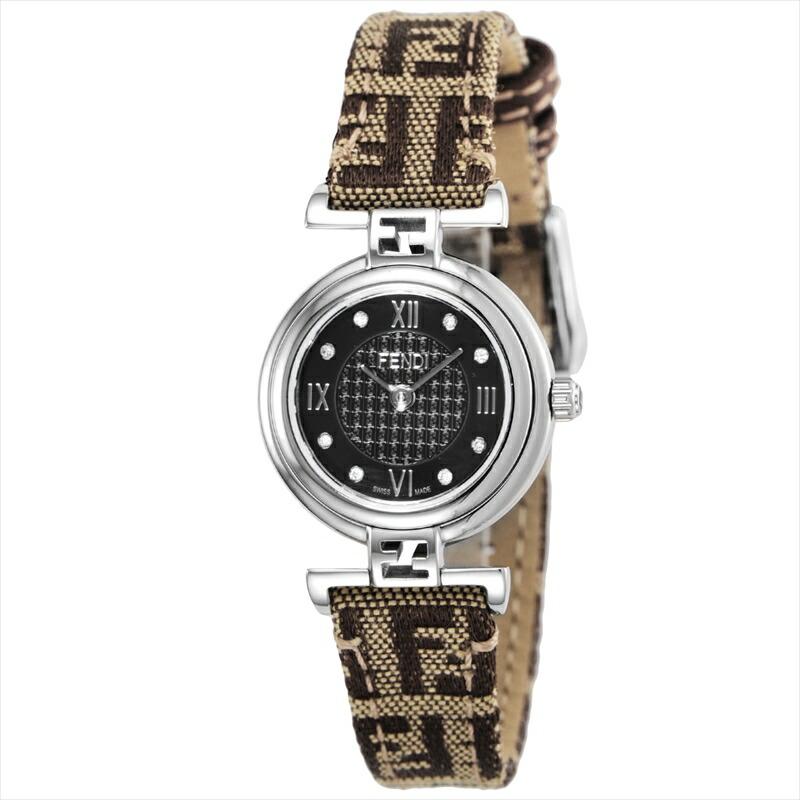 フェンディ FENDI 腕時計 MODA ブラウン F271222DF