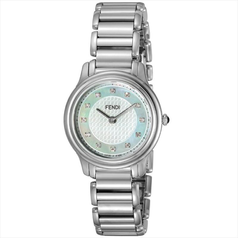 フェンディ FENDI 腕時計 クラシコラウンド ホワイトパール F251024500D1