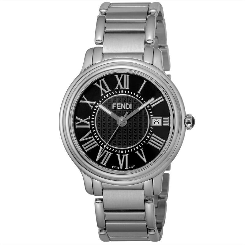 フェンディ FENDI メンズ腕時計 CLASSICOROUNDMEN F257011000 ブラック