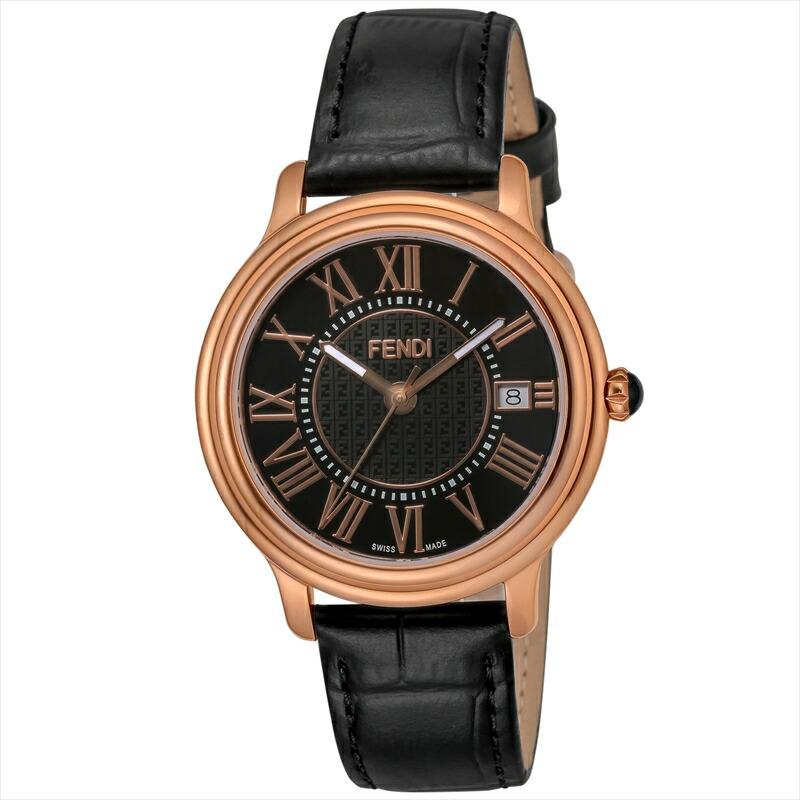 フェンディ FENDI メンズ腕時計 CLASSICOROUNDMEN F256511011 ブラック