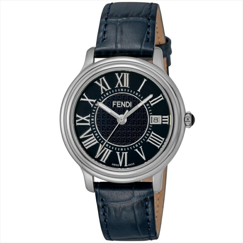 フェンディ FENDI メンズ腕時計 CLASSICOROUNDMEN F256013031 ネイビー