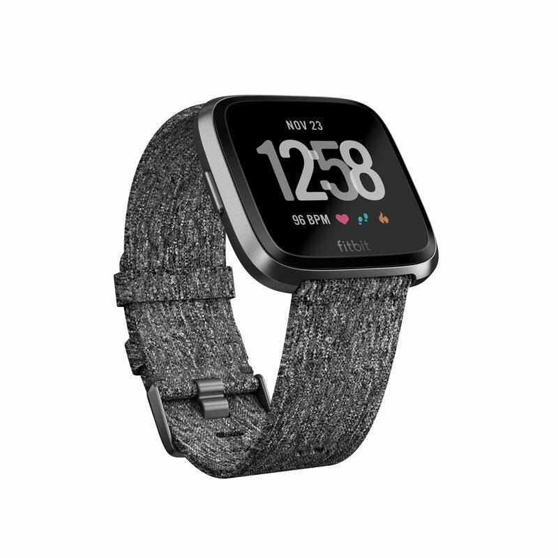 フィットビット Fitbit スマートウォッチ FB505BKGY-CJK ユニセックス Versa ブラックグレー