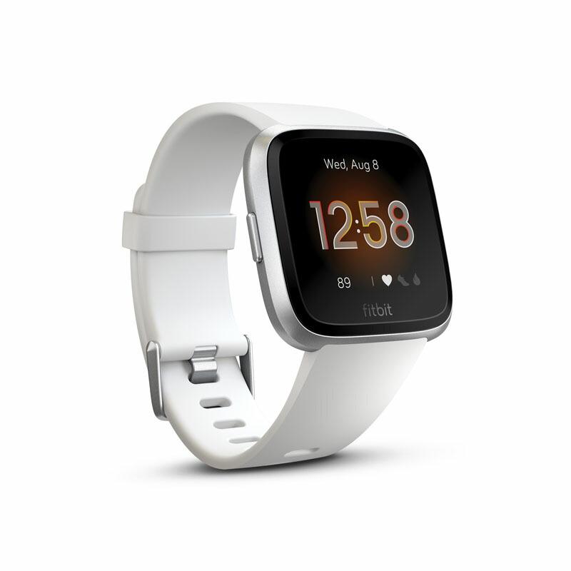 フィットビット Fitbit スマートウォッチ FB415SRWT-FRCJK ユニセックス Versa Lite ホワイト