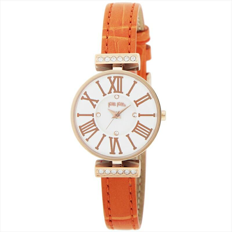 フォリフォリ Folli Follie レディース腕時計 WF13B014SSWOR ダイナスティ シルバー