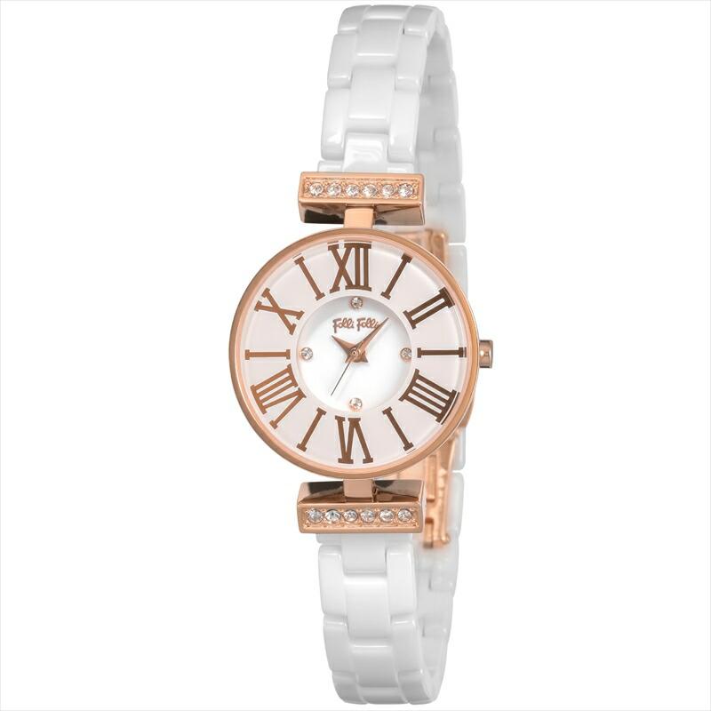フォリフォリ Folli Follie レディース腕時計 ダイナスティ WF15B028BSZ ホワイト