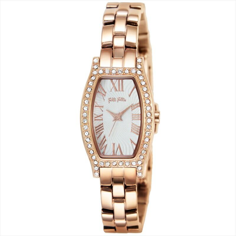 フォリフォリ Folli Follie レディース腕時計 DEBUTANT WF8B026BPZ シルバー