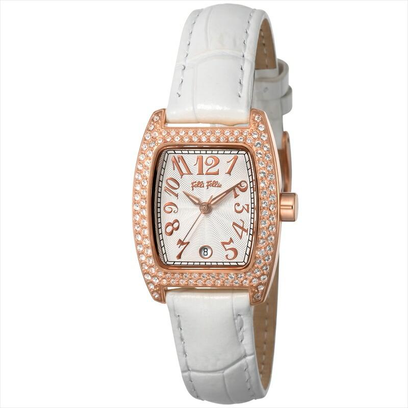 フォリフォリ Folli Follie レディース腕時計 S922(new) WF5R081SDS-WH シルバー
