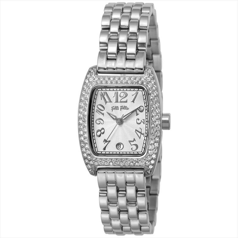 フォリフォリ Folli Follie レディース腕時計 S922(new) WF5T081BDS-XX シルバー