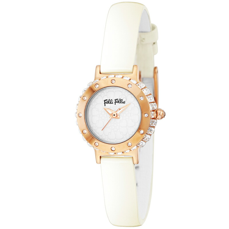フォリフォリ Folli Follie レディース 腕時計 HEART4HEART WF13B067SPW WH