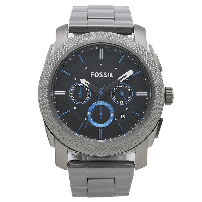 フォッシル FOSSIL 腕時計 FS4931 MACHINE ブラック ステンレス