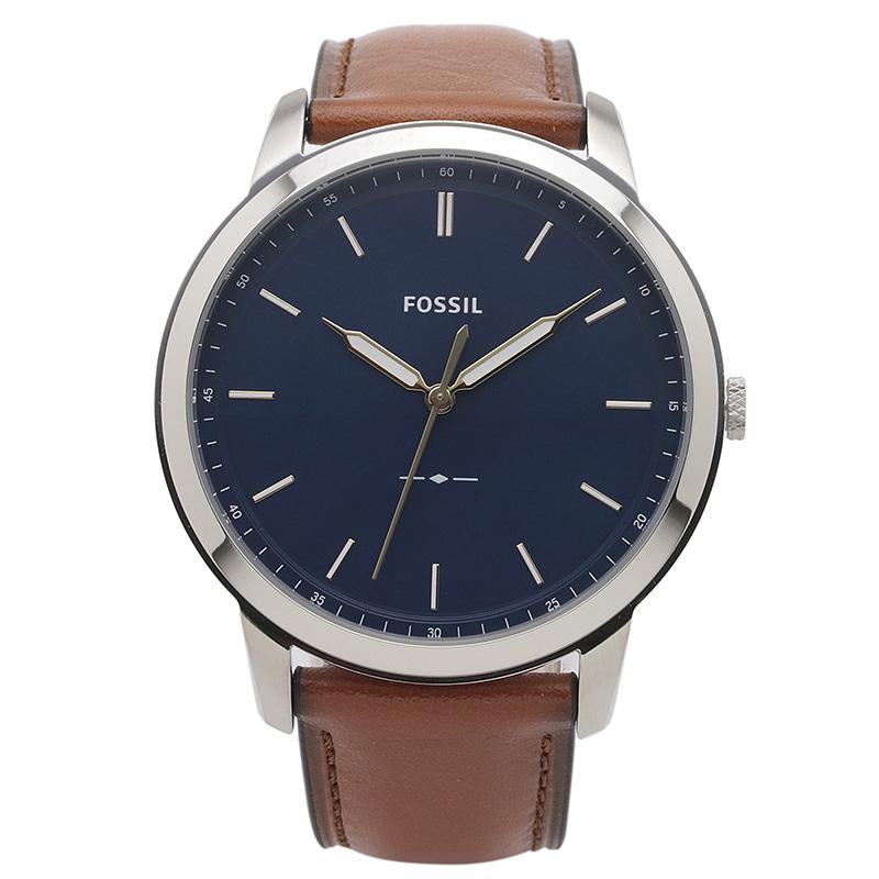 フォッシル FOSSIL 腕時計 FS5304 MINIMALIST ブルー ステンレス