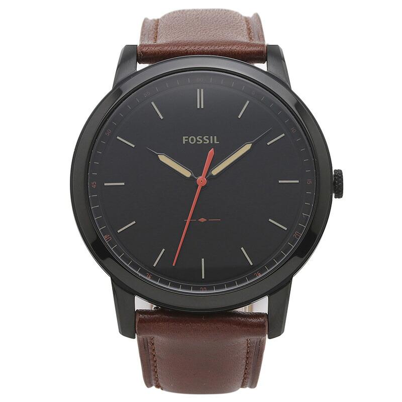 フォッシル FOSSIL 腕時計 FS5305 MINIMALIST ブラック ステンレス
