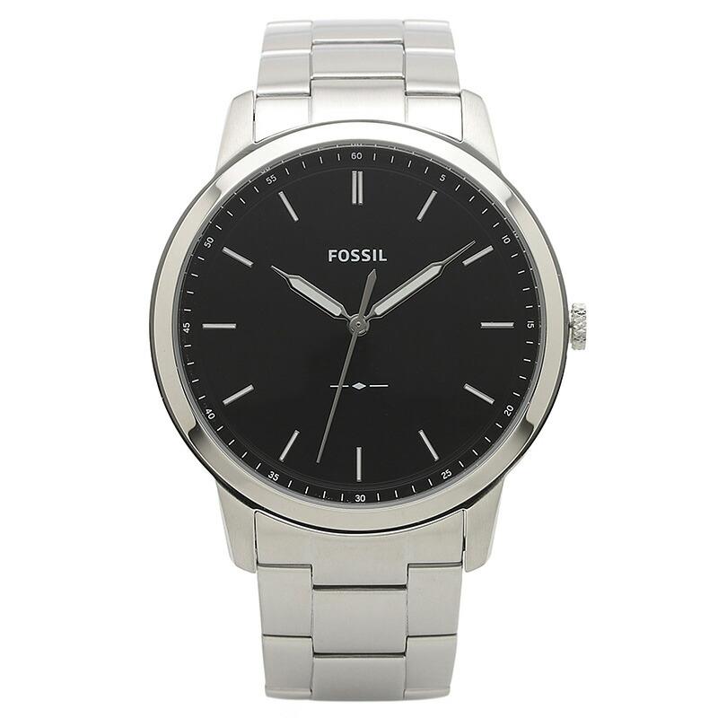 フォッシル FOSSIL 腕時計 FS5307 MINIMALIST ブラック ステンレス