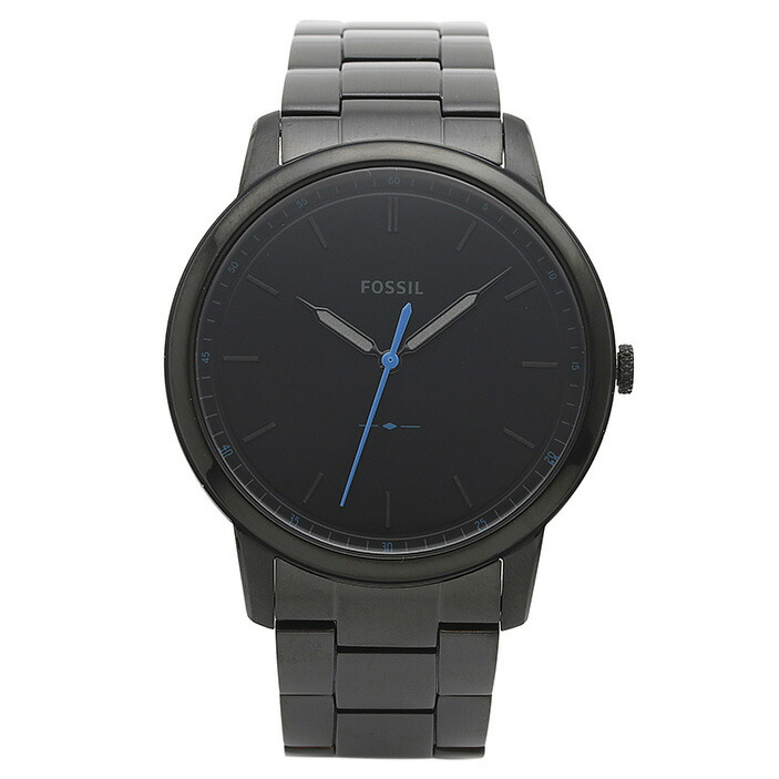 フォッシル FOSSIL 腕時計 FS5308 MINIMALIST ブラック ステンレス