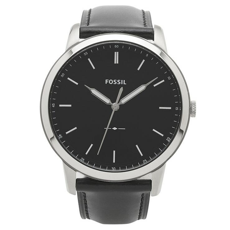 フォッシル FOSSIL 腕時計 FS5398 MINIMALIST ブラック ステンレス