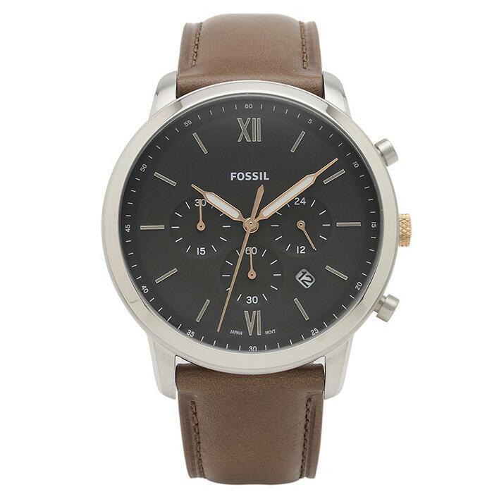 フォッシル FOSSIL 腕時計 FS5408 NEUTRA グレー ステンレス