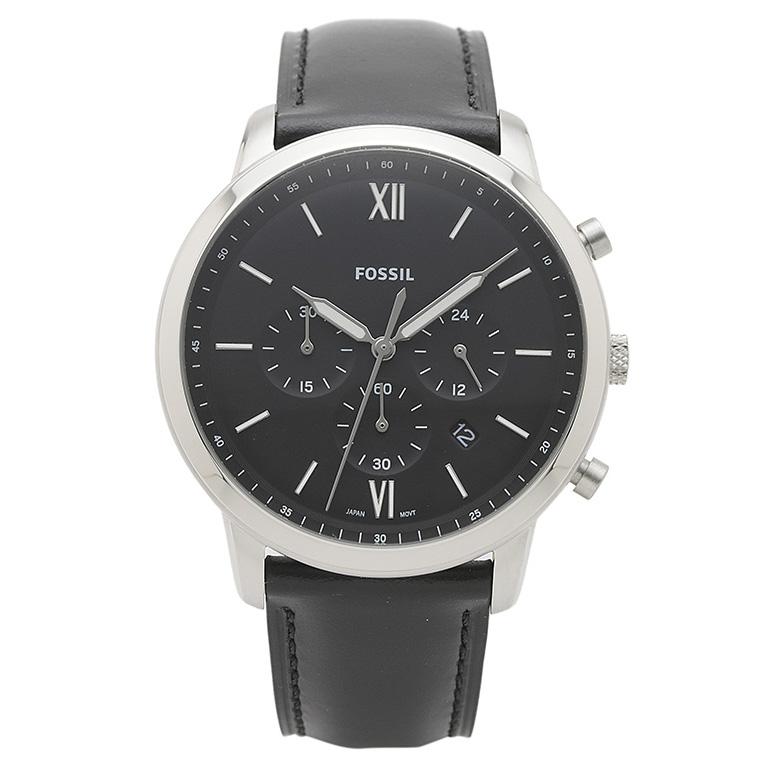 フォッシル FOSSIL 腕時計 FS5452 NEUTRA ブラック ステンレス