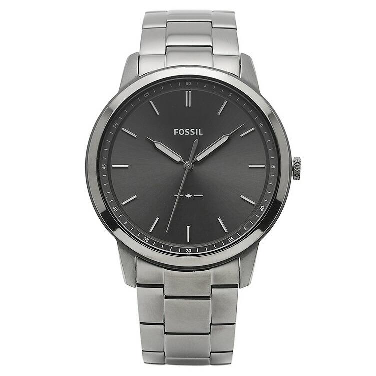 フォッシル FOSSIL 腕時計 FS5459 MINIMALIST グレー ステンレス