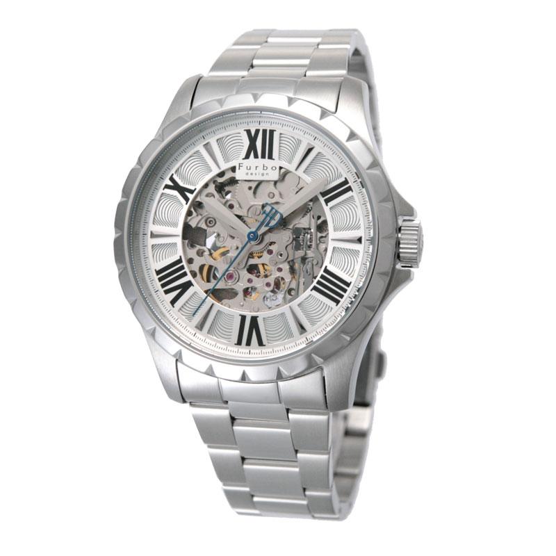 フルボデザイン Furbo design メンズ腕時計 F5021SISS 5021 シルバー