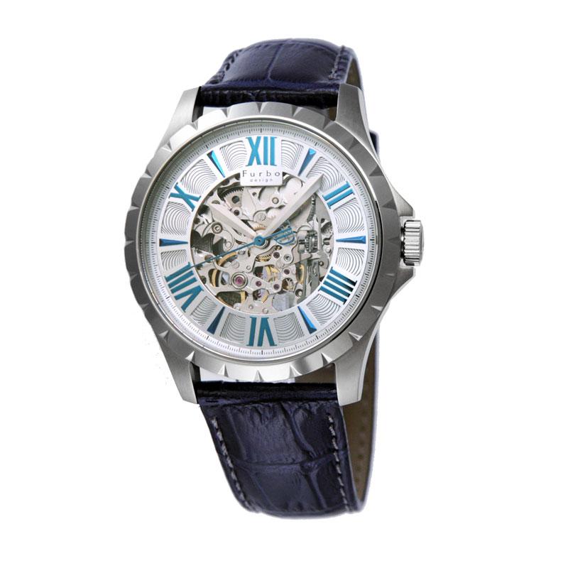フルボデザイン Furbo design メンズ腕時計 F5021SSIBL 5021 シルバー