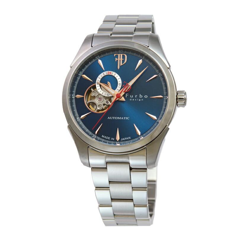 フルボ Furbo 腕時計 メンズ F5029BLSS ブルー