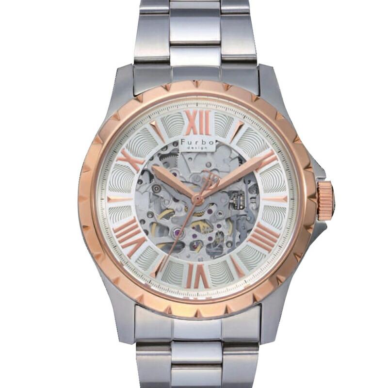 フルボ Furbo 腕時計 メンズ F5021PSISS シルバー