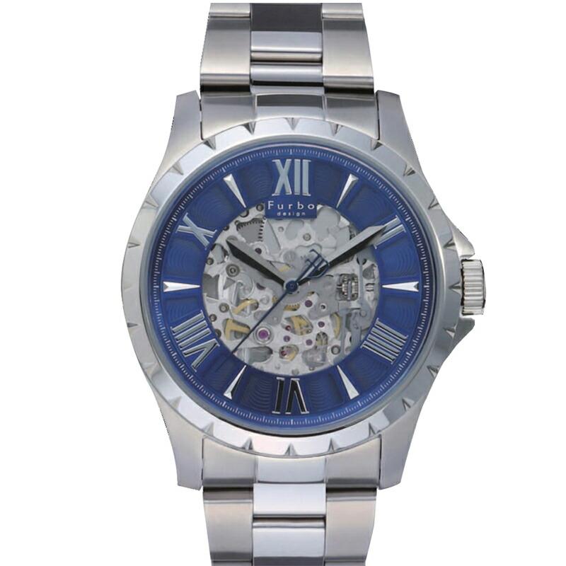 フルボ Furbo 腕時計 メンズ F5021SNVSS ブルー
