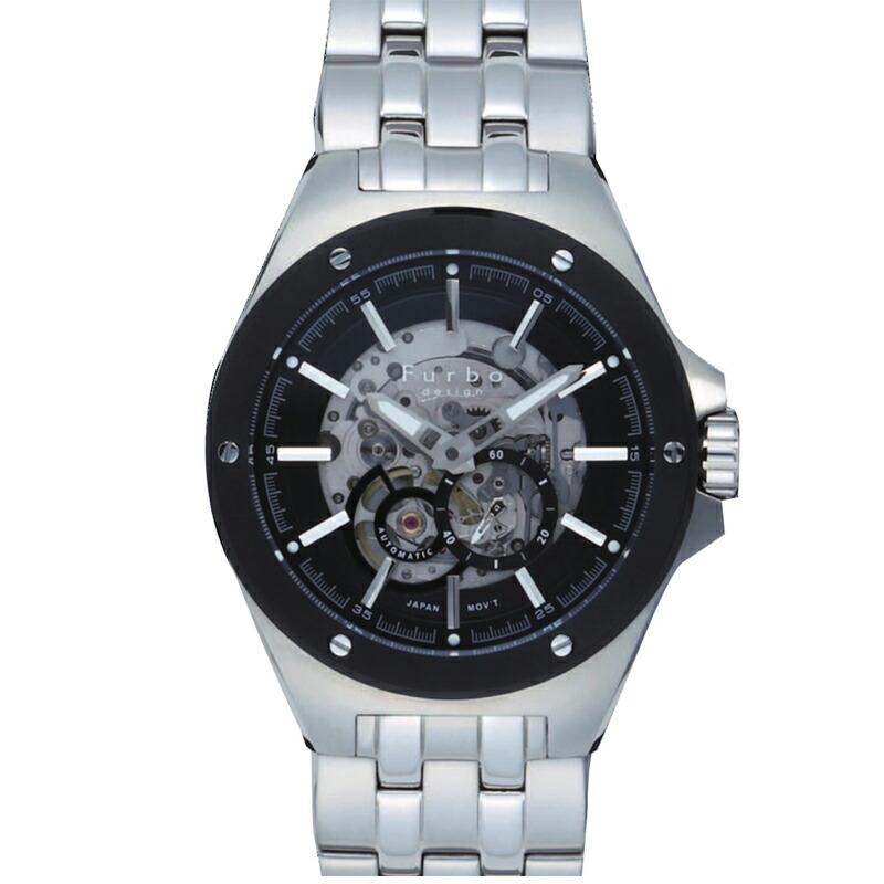 フルボ Furbo 腕時計 メンズ F2501BKSS ブルー