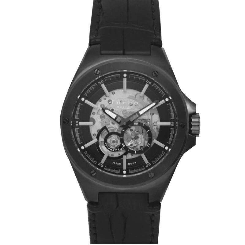 フルボ Furbo 腕時計 メンズ F2501GBKBK ブルー