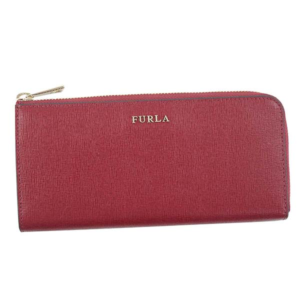 フルラ FURLA L字ファスナー長財布 BABYLON XL ZIP AROUND L BABYLON PS13 CILIEGIA d