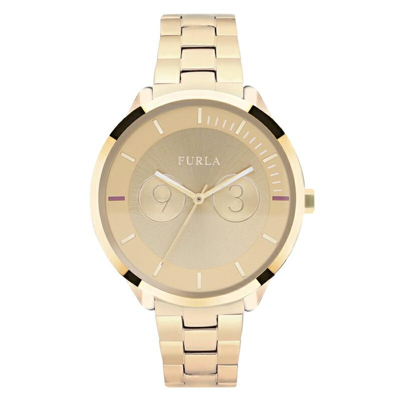 【アウトレット特価】フルラ FURLA レディース 腕時計 R4253102504 メトロポリス ゴールド