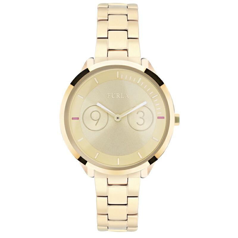 【アウトレット特価】フルラ FURLA レディース 腕時計 R4253102508 メトロポリス ゴールド