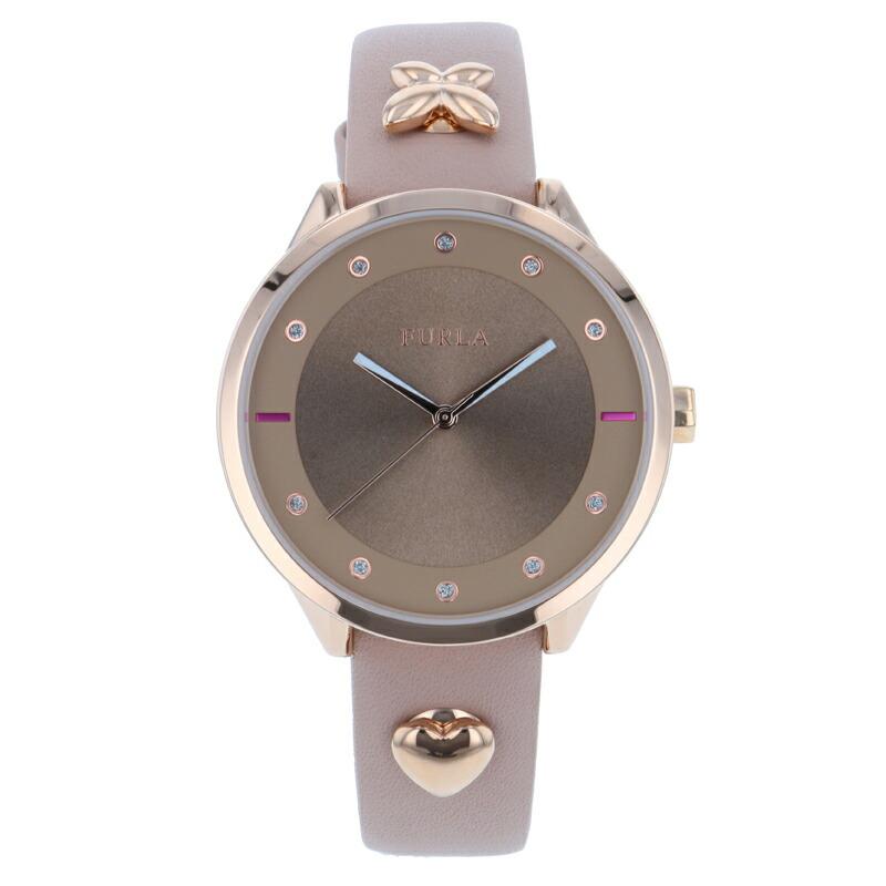 【店内全品送料無料~3/11】【アウトレット特価】フルラ FURLA 腕時計 レディース R4251102541 ローズ ピンコレクション