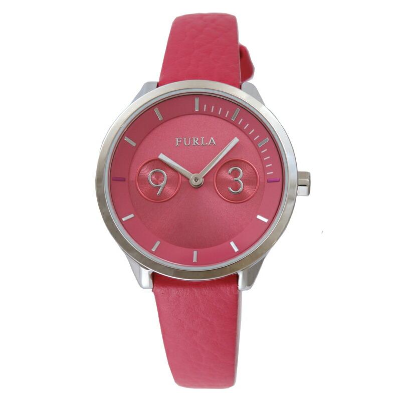 【アウトレット特価】フルラ FURLA レディース 腕時計 R4251102545 メトロポリス ピンク