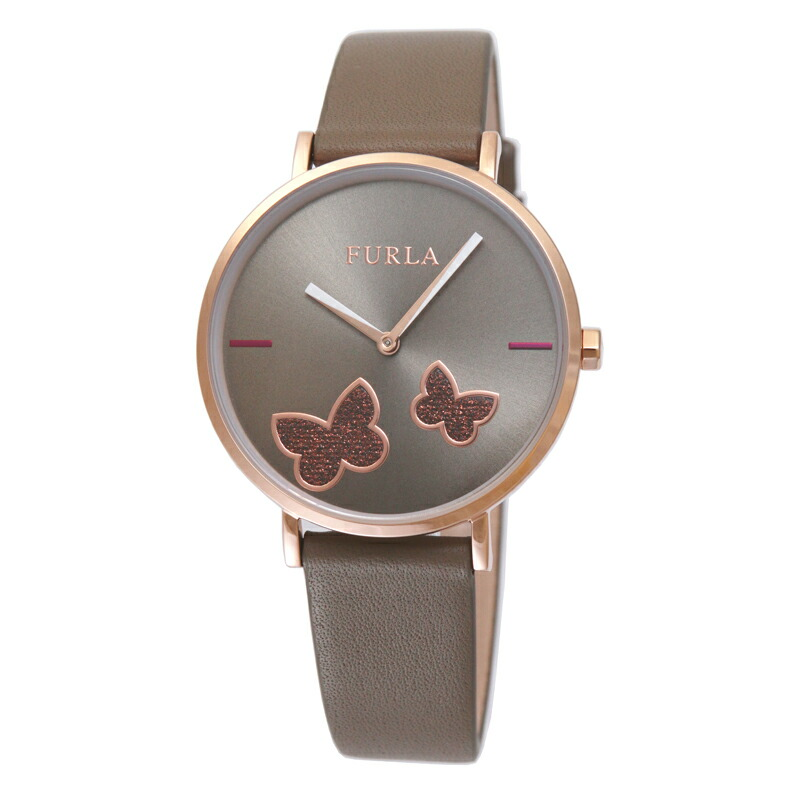 【アウトレット特価】フルラ FURLA 腕時計 レディース R4251113510 グレイ バタフライ