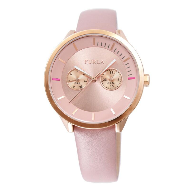 【店内全品送料無料~3/11】【アウトレット特価】フルラ FURLA 腕時計 レディース R4251102546 ピンク メトロポリス