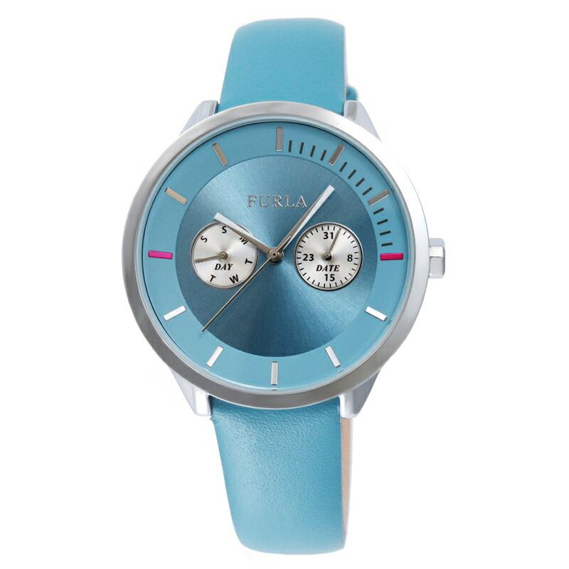 【アウトレット特価】フルラ FURLA 腕時計 レディース R4251102548 ブルー メトロポリス