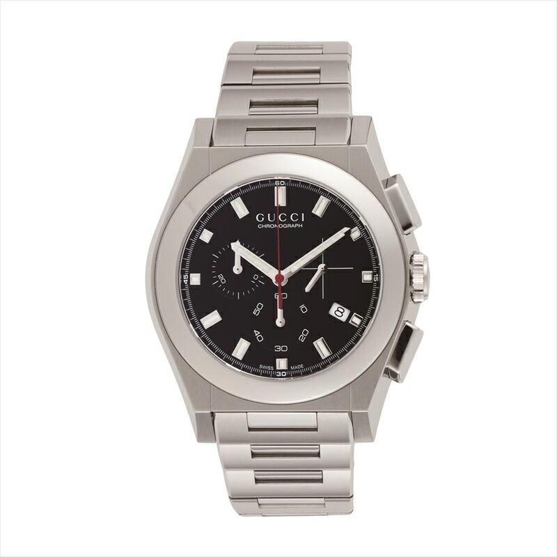 グッチ GUCCI メンズ腕時計 パンテオン YA115235 ブラック