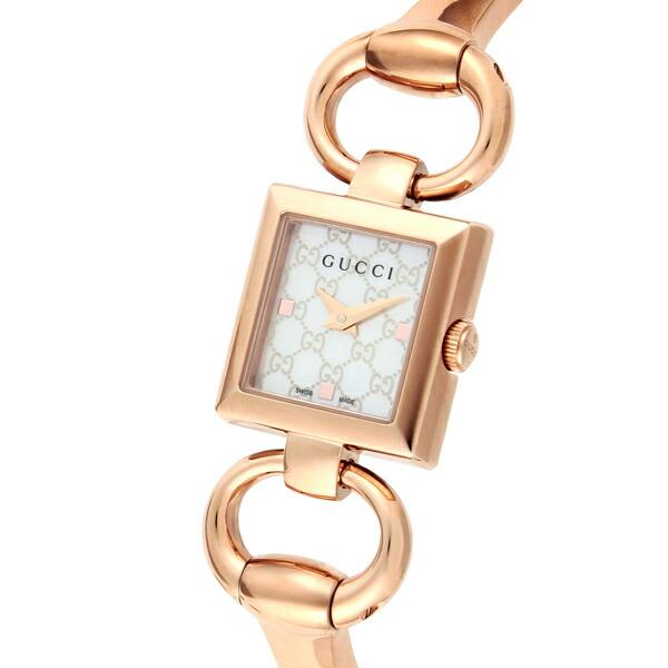 グッチ GUCCI 腕時計 トルナヴォーニ ホワイトパール YA120519