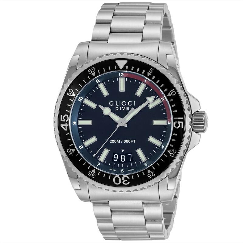 グッチ GUCCI メンズ腕時計 DIVE YA136212