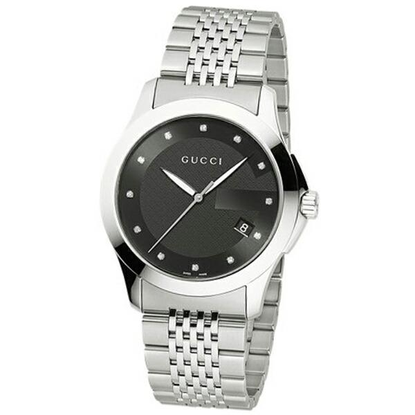 グッチ 新作アイテム毎日更新 GUCCI 腕時計 ブラック Gタイムレス YA101309 配送員設置送料無料