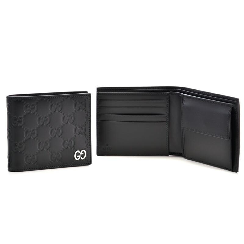 グッチ GUCCI メンズ折財布 ドリアン 473922-CWC1N ブラック