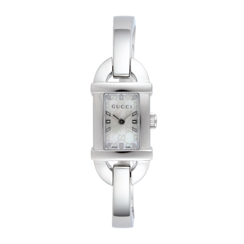 グッチ GUCCI レディース 腕時計 バンブー YA068588 ホワイトシェル