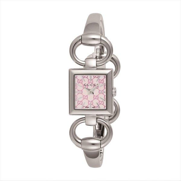 グッチ GUCCI レディース腕時計 トルナヴォーニ YA120515 ピンクパール